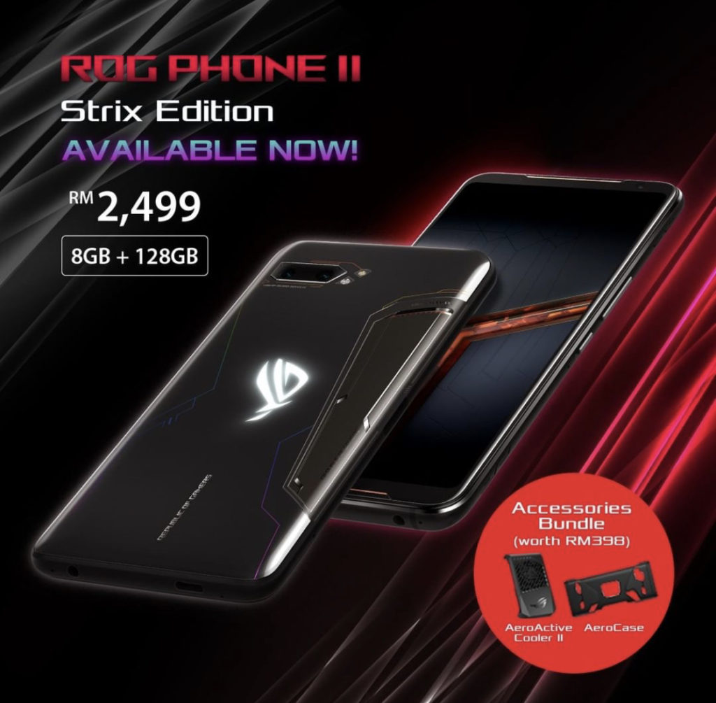 Asus rog phone II strix edition