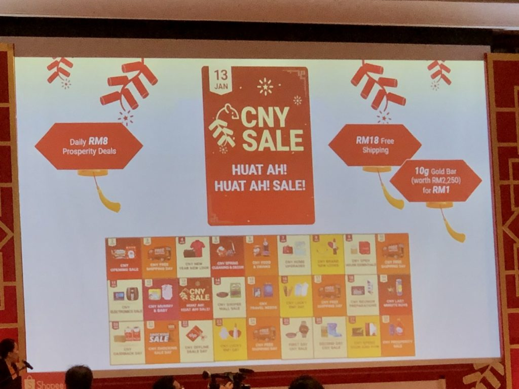 Shopee CNY sale