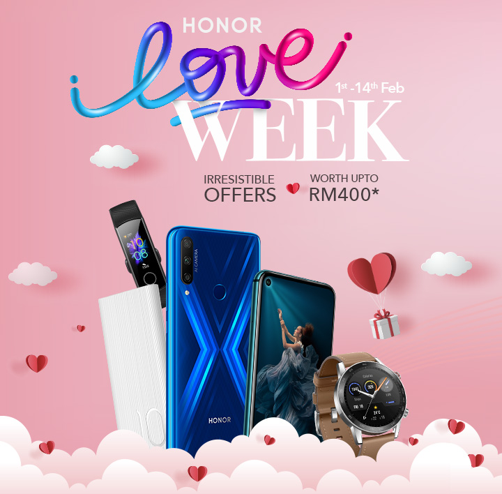 Honor Malaysia Valentine Day Promotion