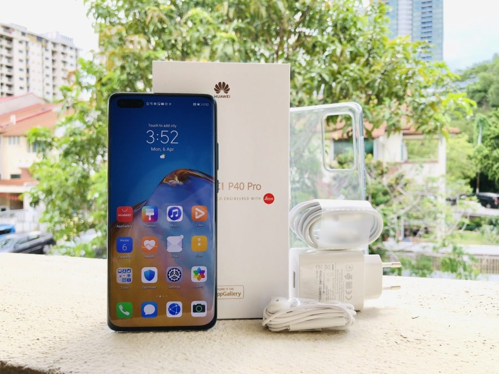 Huawei P40 Pro unboxing
