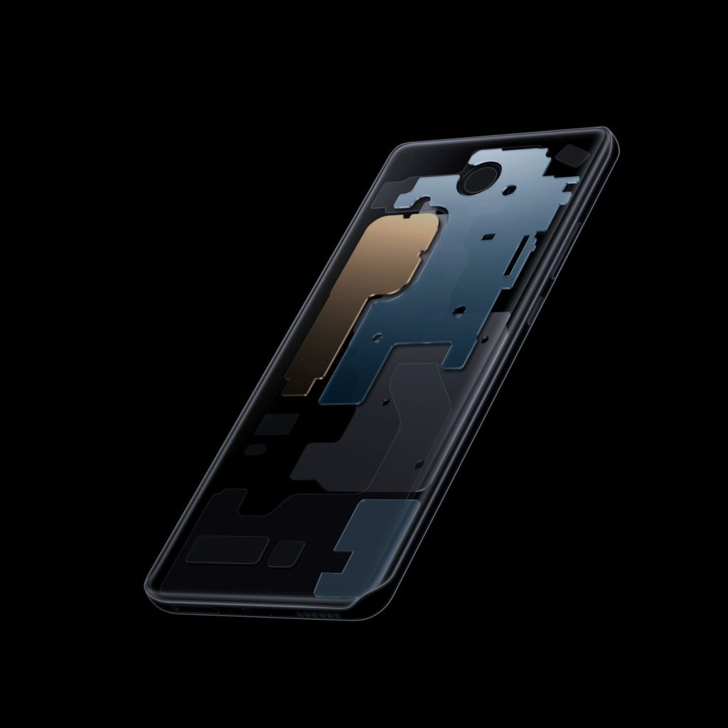 Huawei P40 Pro Cooling System