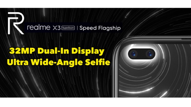 realme X3 SuperZoom Malaysia - 32MP Dual-In Display Selfie & Video Selfie Slo-Mo 120fps 12