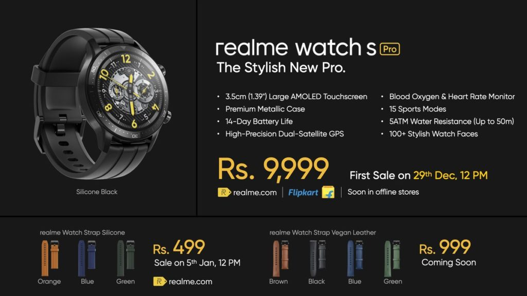 realme Watch S Pro, Watch S Master Edition dan Buds Air Pro Master Edition kini rasmi 12