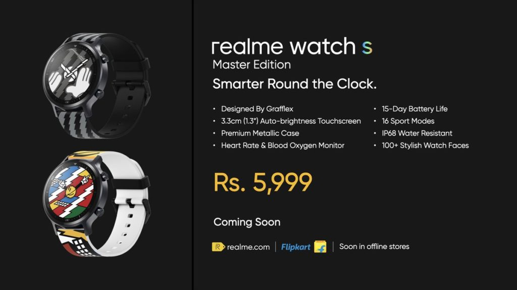 realme Watch S Pro, Watch S Master Edition dan Buds Air Pro Master Edition kini rasmi 13