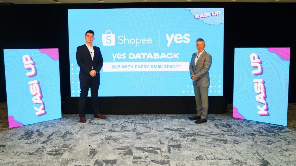 YES DATABACK - Sehingga 100GB Kuota Internet Percuma Dengan Pembelian di Shopee 5