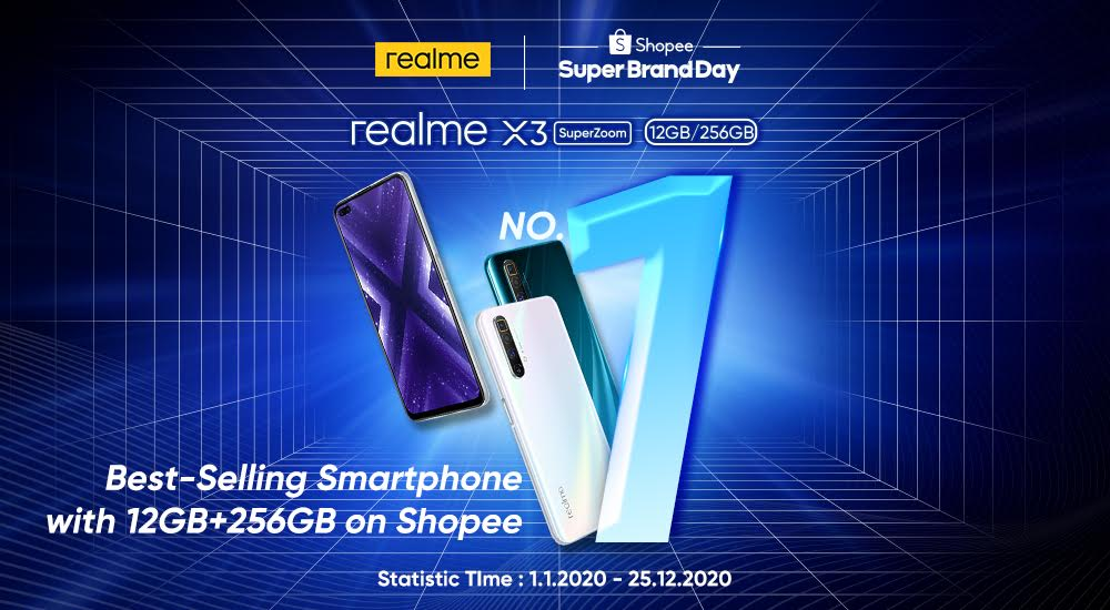 realme Smart TV dinobatkan TV paling banyak terjual dalam masa 24 jam di Shopee 6