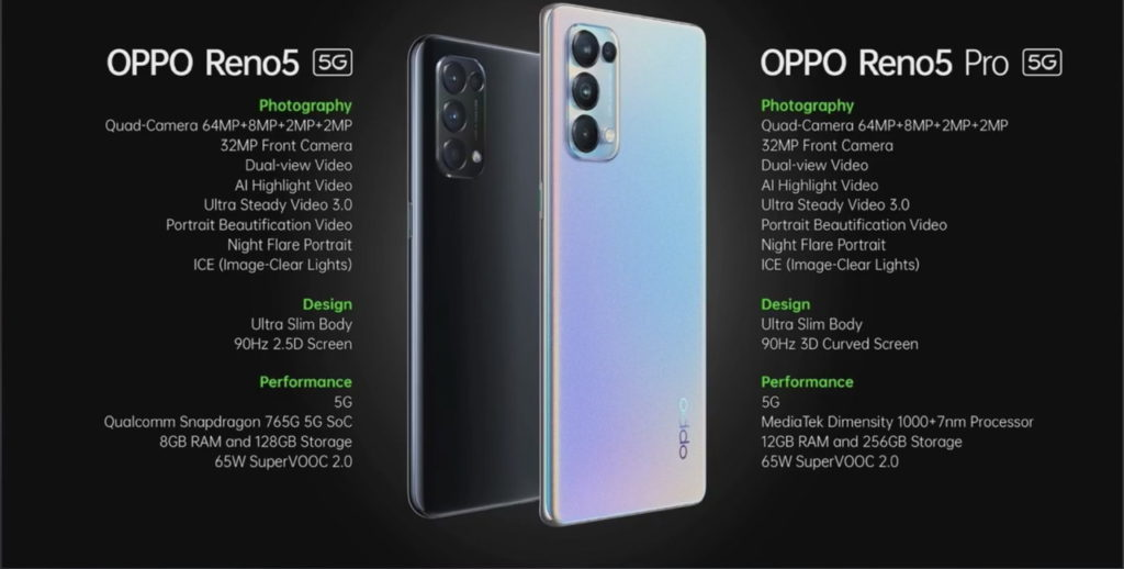 Oppo Reno5 Pro 5G dan Reno5 5G kini rasmi - skrin AMOLED 902 Hz, quad-kamera 64MP dan pemproses 5G berkuasa tinggi 17