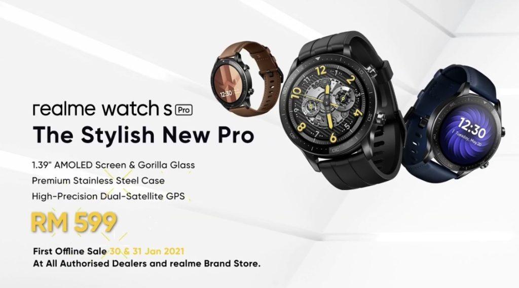 realme Watch S Pro  kini rasmi di Malaysia - RM 599 sahaja 9