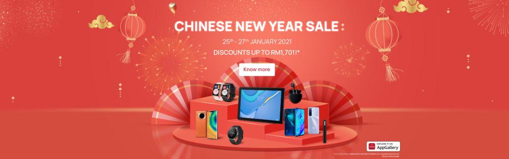 Promosi CNY 2021 HUAWEI akan berlangsung pada 25 hingga 27 Januari ini 17