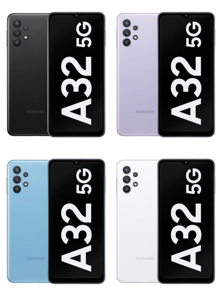 Samsung Galaxy A32 5G kini rasmi - telefon pintar 5G termurah keluaran Samsung 6