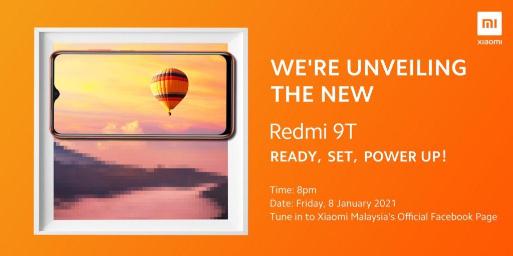 Xiaomi Redmi 9T akan dilancarkan pada 8 Januari 2021 3