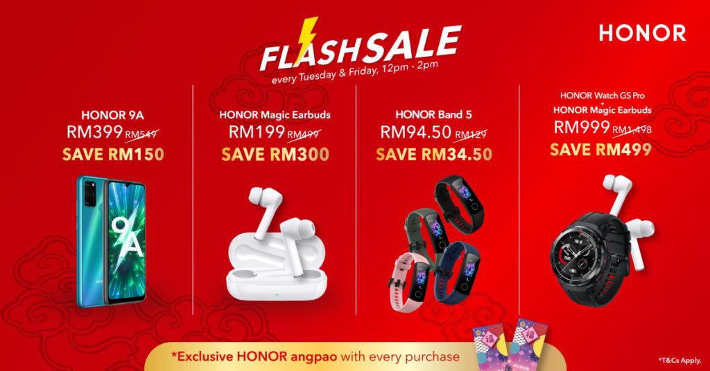 Honor Malaysia umumkan promosi Niu Year Sale dengan diskaun hebat sehingga 60% 6