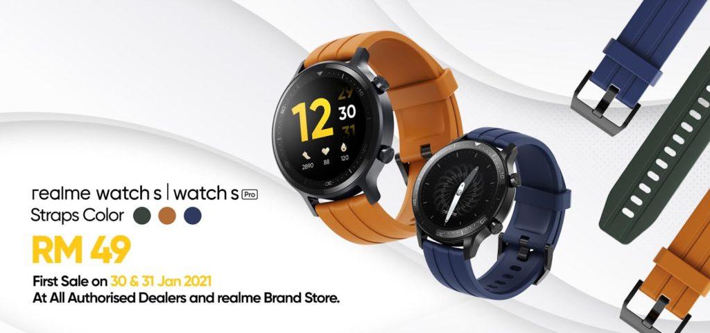 realme Watch S Pro akan mula ditawarkan di Malaysia pada 30 Januari ini - RM 599 8