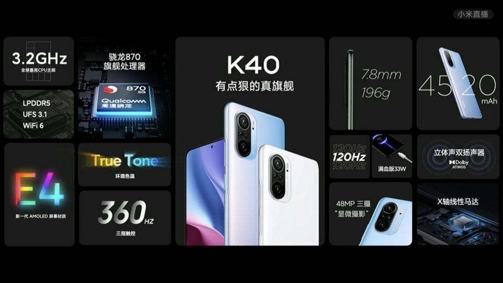 Siri Redmi K40 kini rasmi - skrin E4 AMOLED 120Hz, cipset flagship Snapdragon 888 & sensor utama 108MP 18