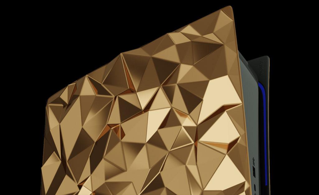 Caviar kini menawarkan konsol PlayStation 5 yang disaluti emas seberat 4.5kg pada harga RM 2.01 juta seunit 12