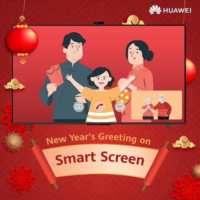 Alami Pengunaan HUAWEI Vision Smart Screen yang kini tersedia di 18 Huawei Experience Store 9