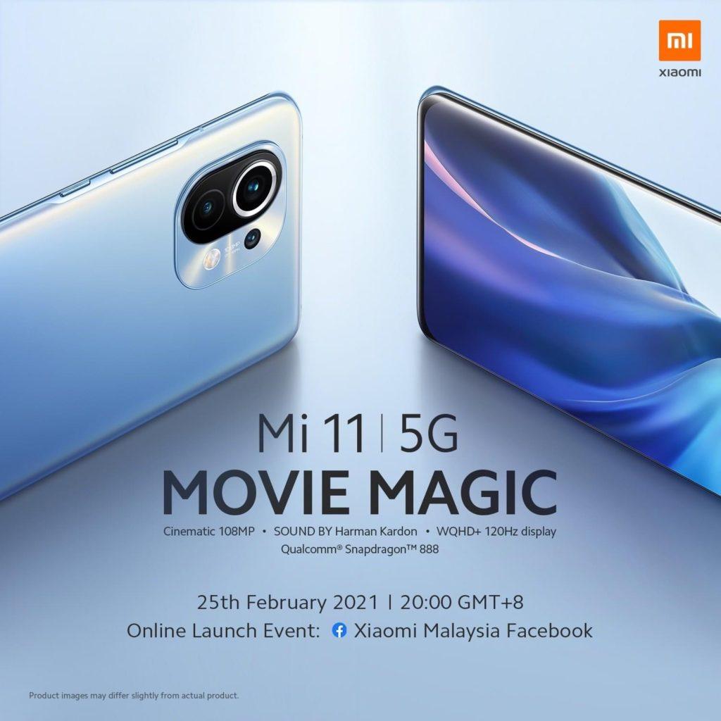 Xiaomi Mi 11 akan dilancarkan di Malaysia pada 25 Februari ini 3
