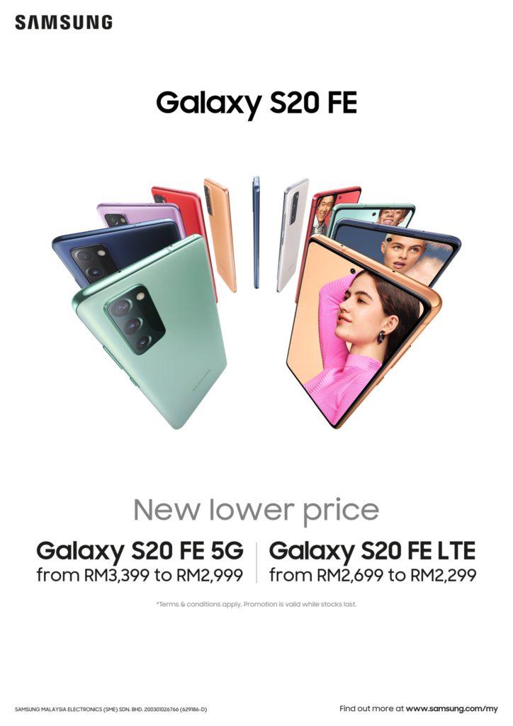 Samsung Galaxy Z Flip dan Galaxy S20 FE kini lebih murah - penjimatan hampir RM 1,900 9