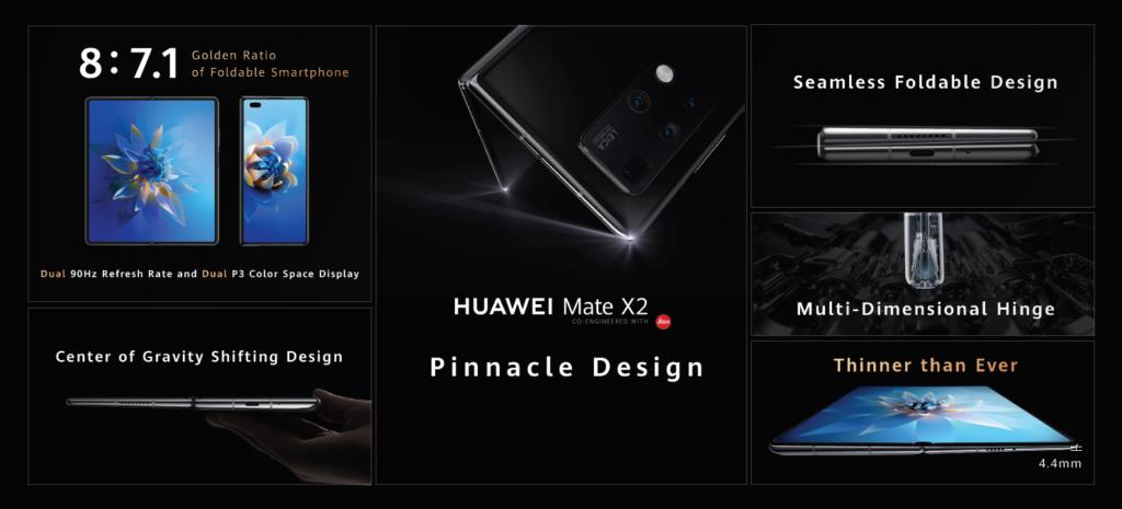Huawei Mate X2 kini rasmi dengan dua skrin OLED 90Hz dan Kirin 9000 pada harga sekitar RM 11,250 34