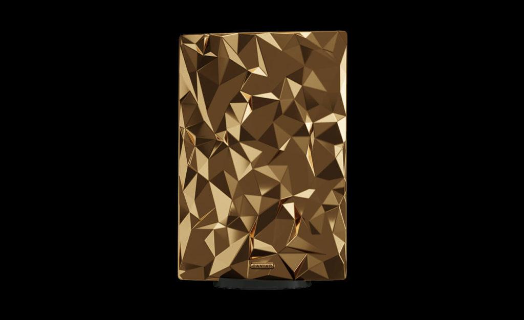 Caviar kini menawarkan konsol PlayStation 5 yang disaluti emas seberat 4.5kg pada harga RM 2.01 juta seunit 10