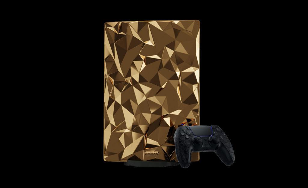 Caviar kini menawarkan konsol PlayStation 5 yang disaluti emas seberat 4.5kg pada harga RM 2.01 juta seunit 11
