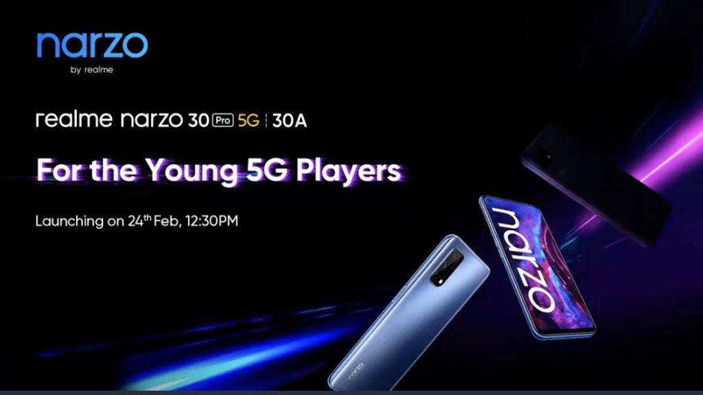 realme Narzo 30 Pro 5G dan Narzo 30A akan dilancarkan pada 24 Februari ini 3