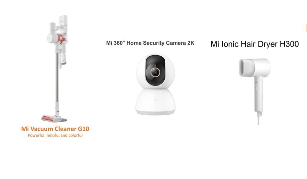 Xiaomi Vacuum Cleaner Mi G10, Mi Ionic Hair Dryer H300 dan Kamera Keselamatan 360º Mi 2K kini di Malaysia pada harga dari RM 129 sahaja 5