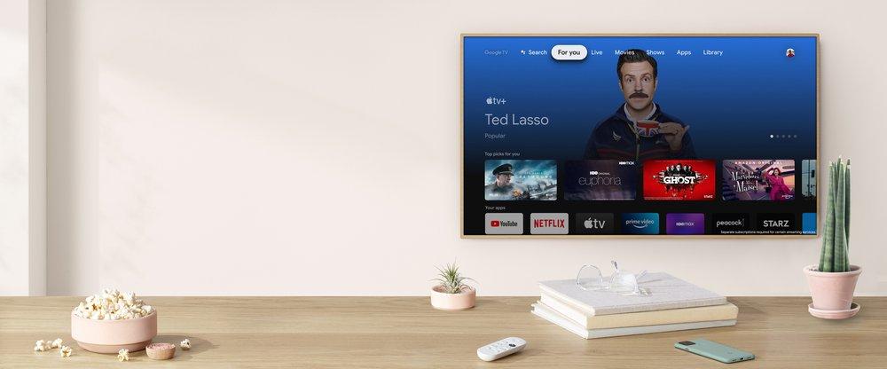 Servis Apple TV+ kini ditawarkan pada Google TV 3