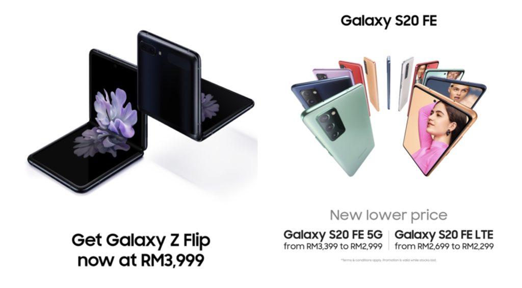 Samsung Galaxy Z Flip dan Galaxy S20 FE kini lebih murah - penjimatan hampir RM 1,900 7