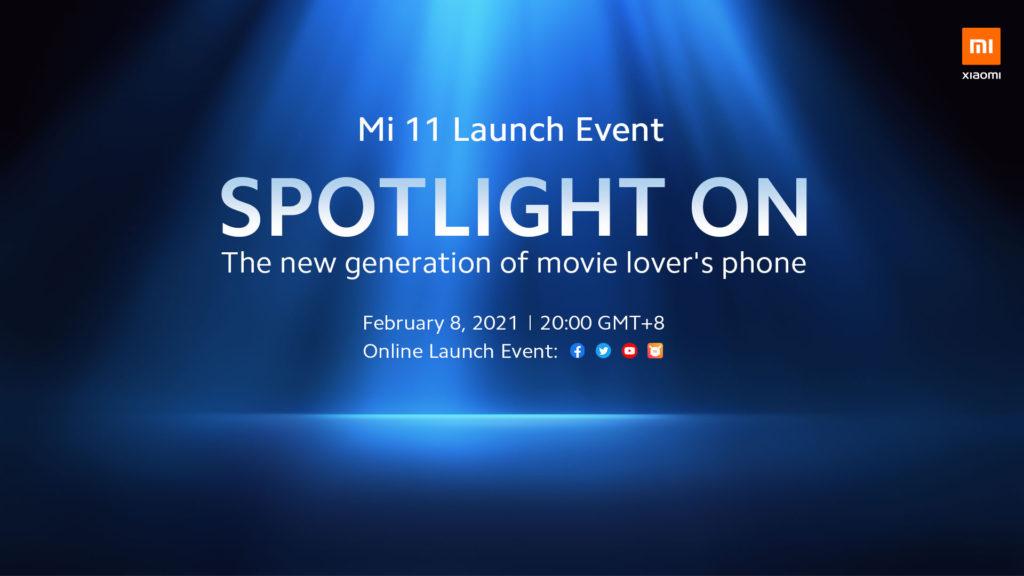 Xiaomi Mi 11 akan dilancarkan untuk pasaran global pada 8 Februari ini 5