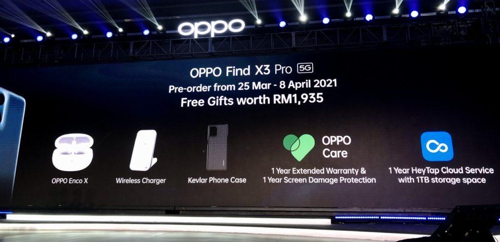 Oppo Find X3 Pro kini rasmi Malaysia pada harga RM 4,299 30