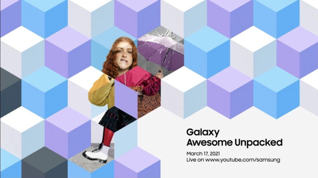 Samsung Galaxy Awesome Unpacked akan berlangsung 17 Mac ini - Galaxy A52 dan A72 2021 akan diperkenalkan 3