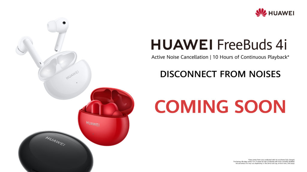 Huawei FreeBuds 4i yang lengkap dengan ANC akan dilancarkan di Malaysia tidak lama lagi 3