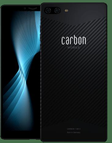 Carbon 1 MK II - telefon pintar pertama didunia dengan pengunaan gentian karbon 9
