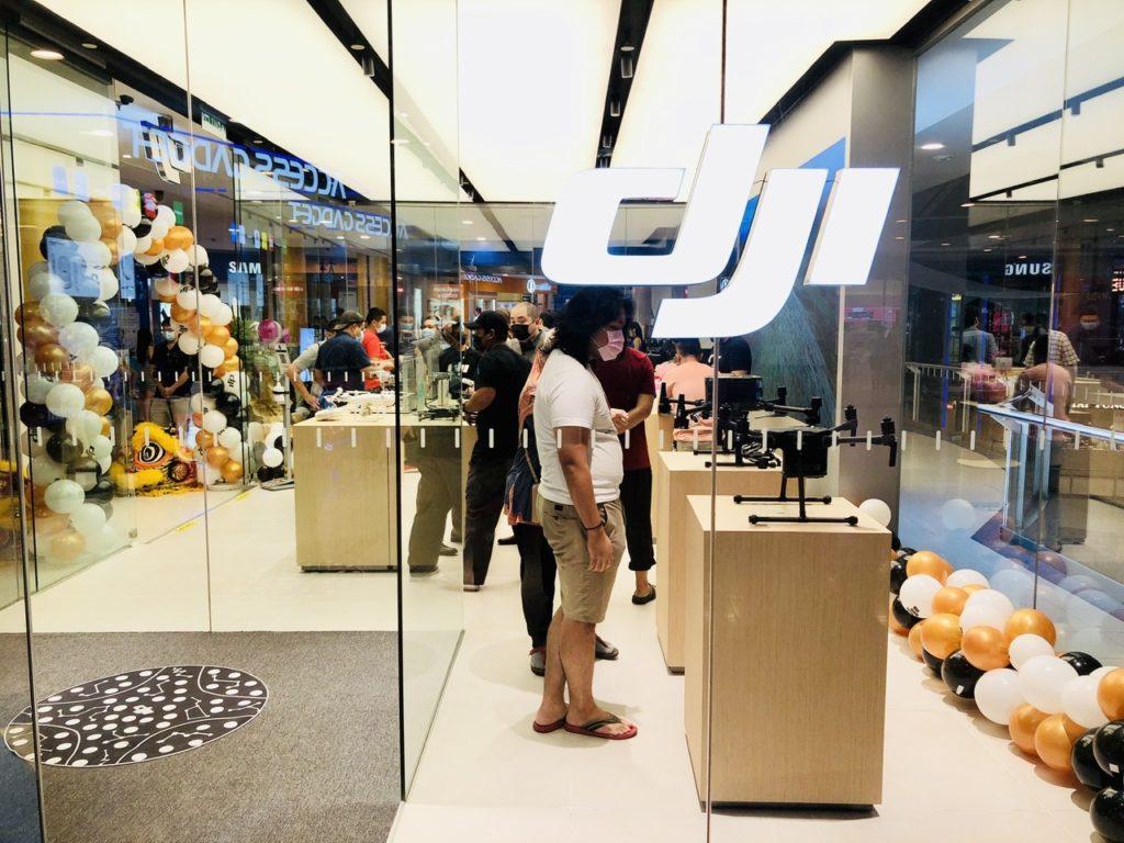 Stor Rasmi DJI Malaysia kini dibuka di Sunway Pyramid 14
