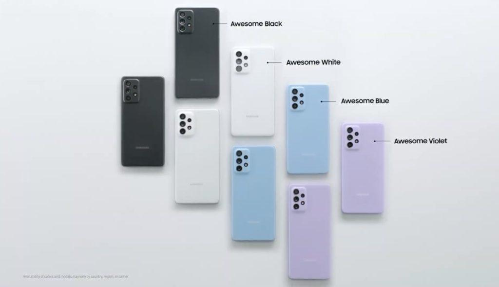 Samsung Galaxy A52 dan Galaxy A72 kini rasmi - skrin Super AMOLED 90Hz, Snapdragon 720 dan sensor kamera utama 64MP 21