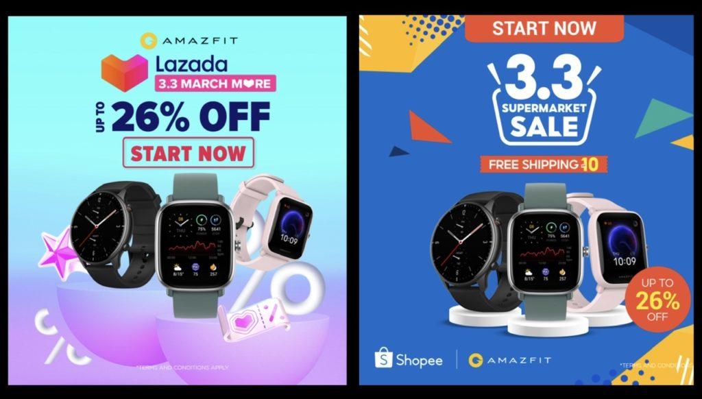 Nikmati diskaun sehingga 26% bagi pembelian jam pintar Amazfit di Shopee dan Lazada pada 3 Mac ini 7