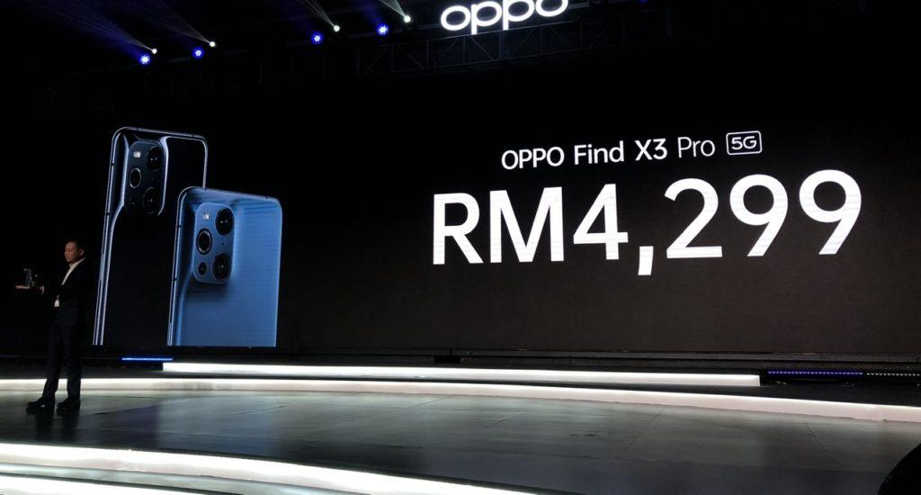 Oppo Find X3 Pro kini rasmi Malaysia pada harga RM 4,299 29