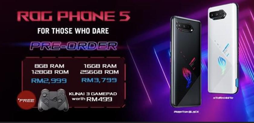 Asus ROG Phone 5 Pro dan ROG Phone 5 kini rasmi - harga dari RM 2,999 sahaja 20