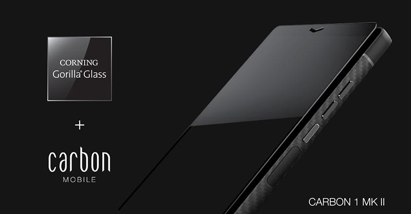 Carbon 1 MK II - telefon pintar pertama didunia dengan pengunaan gentian karbon 11