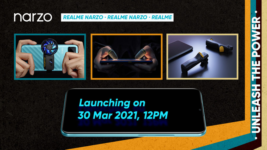 realme Narzo 30A akan dilancarkan di Malaysia 30 Mac ini - bersama beberapa aksesori gaming realme 7