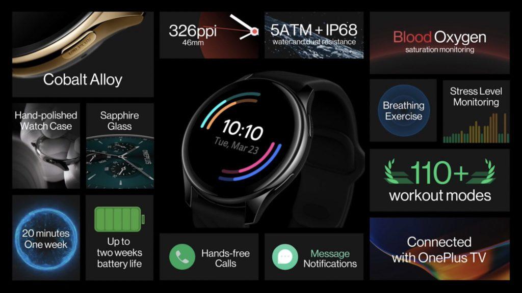 OnePlus Watch kini rasmi dengan skrin OLED dan 2 minggu jangka hayat bateri 6