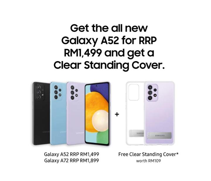 Pandang Pertama : Samsung Galaxy A52 - kini di Malaysia pada harga RM 1,499 sahaja 24