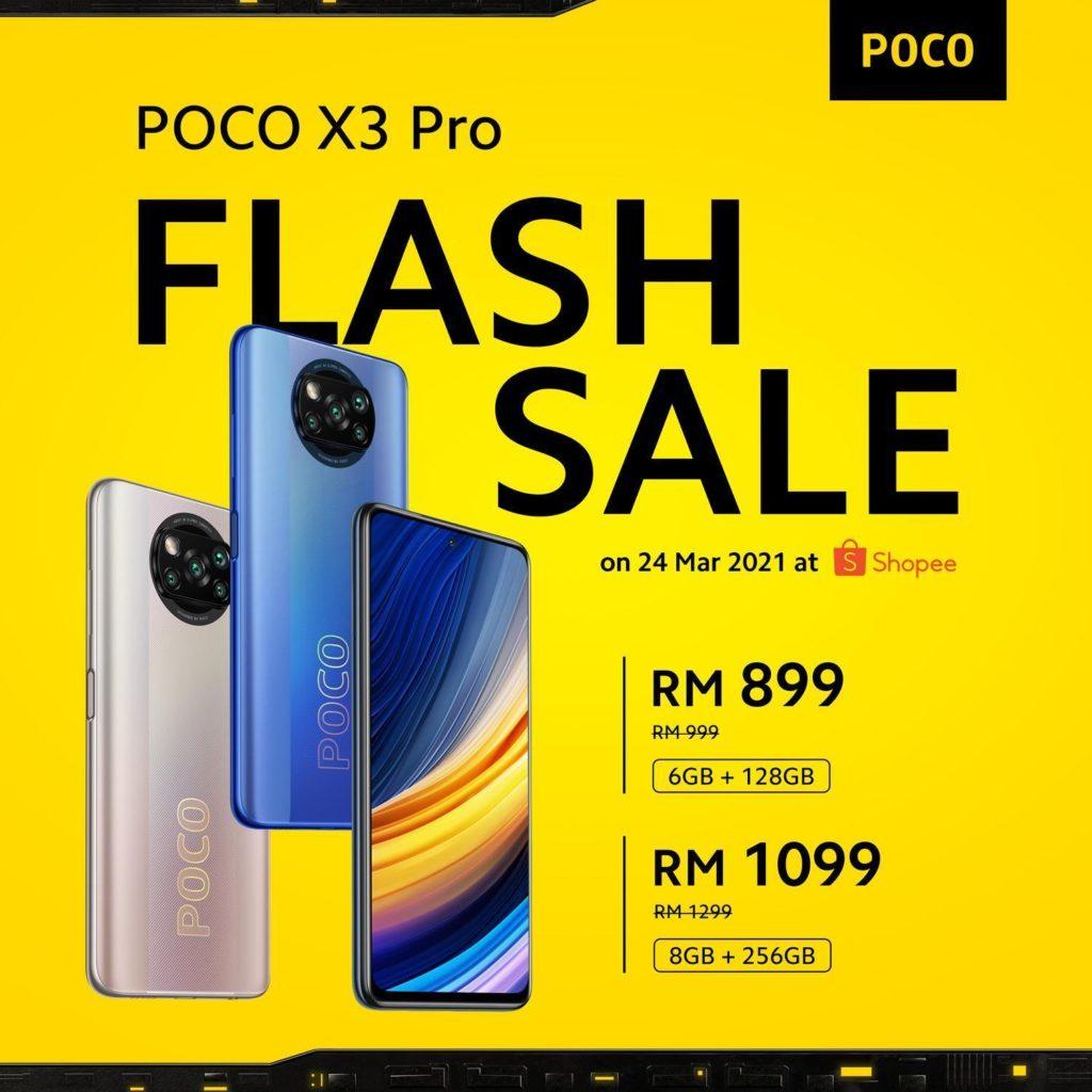 Poco F3 dan Poco X3 Pro kini rasmi dengan Cip Snapdragon 870 5G dan panel AMOLED E4 120Hz pada harga flagship killer 18