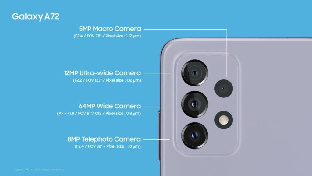 Samsung Galaxy A52 dan Galaxy A72 kini rasmi - skrin Super AMOLED 90Hz, Snapdragon 720 dan sensor kamera utama 64MP 19