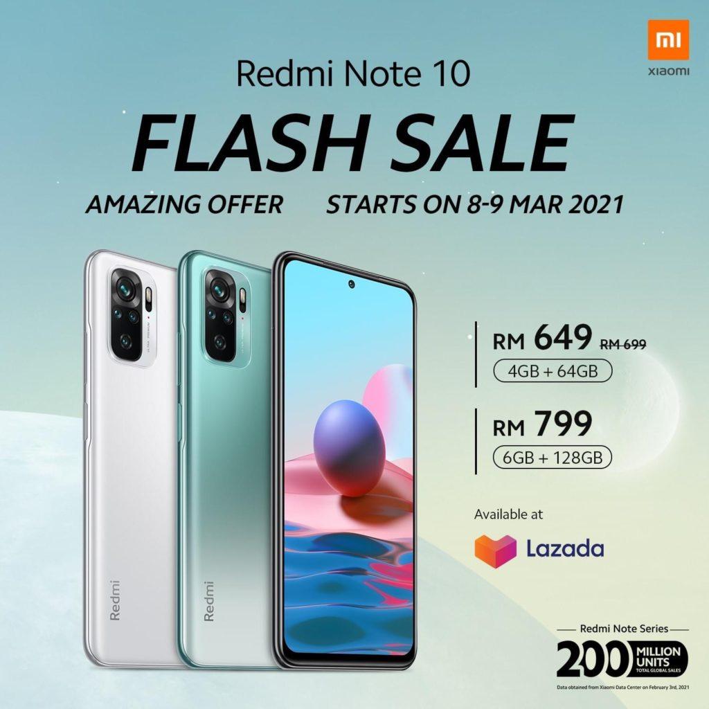 Siri Xiaomi Redmi Note 10 kini rasmi - skrin AMOLED 120Hz, Kamera 108MP pada harga dari RM 649 28