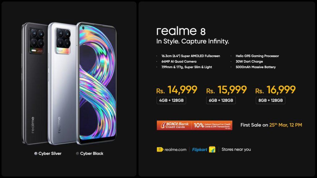 realme 8 Pro dan realme 8 kini rasmi - telefon pintar pertama realme dengan sensor 108MP 18