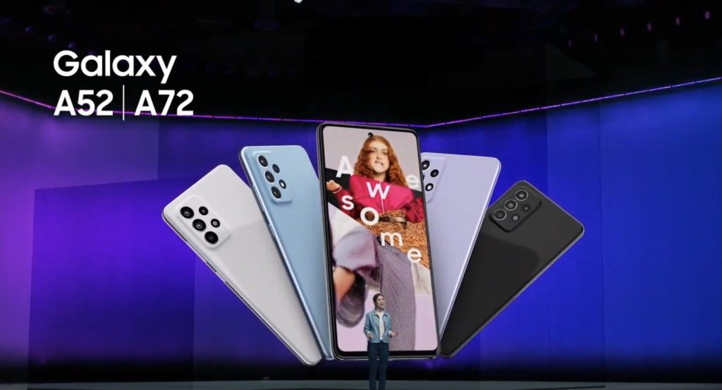 Samsung Galaxy A52 dan Galaxy A72 kini rasmi - skrin Super AMOLED 90Hz, Snapdragon 720 dan sensor kamera utama 64MP 15