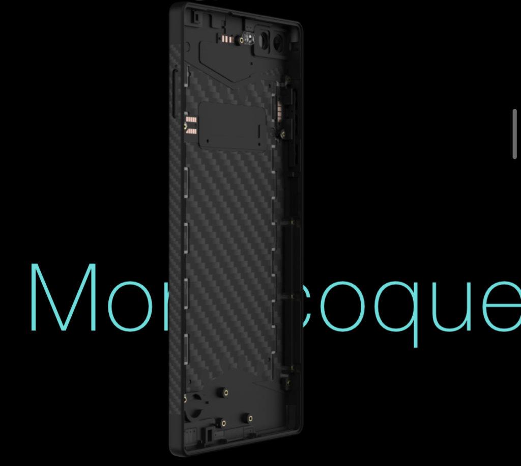 Carbon 1 MK II - telefon pintar pertama didunia dengan pengunaan gentian karbon 10