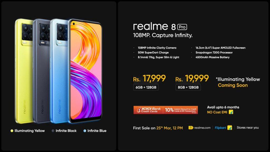 realme 8 Pro dan realme 8 kini rasmi - telefon pintar pertama realme dengan sensor 108MP 15